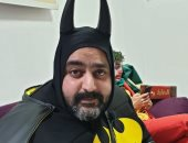 """باتمان أتهان.. شيكو يستعيد ذكرياته مع شخصيته فى مسرحية عطل فنى """"صورة"""""""