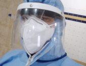 """الجيش الأبيض.. """"أحمد"""" مسئول العلاقات بعزل كفر الدوار بمواجهة فيروس كورونا"""