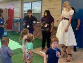إيفانكا ترامب تستعرض إنجازات والدها فى إعادة افتتاح مراكز رعاية الأطفال.. صور