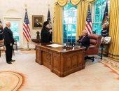 """تفاصيل لقاء ترامب ونائبه مع رئيس """"أساقفة أمريكا"""" بشأن آيا صوفيا"""