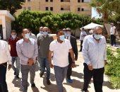 محافظ مطروح يأمر بتركيب كشافات إنارة بالمقابر الشرقية بمنطقة المغاربة
