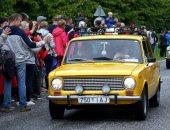 شعب إستونيا يحتفل بمرور  50 عام على إنتاج أول سيارة لادا