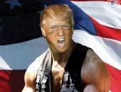 """ترامب الابن يحول والده لـ""""جون رامبو"""" فى صورة جديدة قبل الانتخابات الرئاسية"""