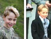 """نسخة بالكربون.. الأمير جورج وشبه كبير مع عمه """"جيمس ميدلتون"""".. شوف الصور"""