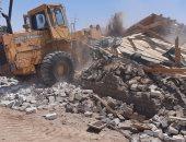 """""""محلية بنى سويف"""": تنفيذ 6 قرارات إزالة لتعديات على طرح النهر بشريف باشا"""