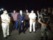 مدير أمن الأقصر يبدأ عمله بجولة على كورنيش النيل لمكافحة التجمعات والعدوى
