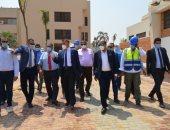 رئيس جامعة عين شمس يتفقد أعمال التطوير ورفع الكفاءة بالمدن الجامعية وملحقاتها