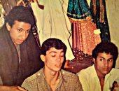 """حكاية صورة.. """"شهاب"""" يروى قصة صورة تجمع والده بالفنان خالد النبوى"""