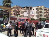 محافظ كفرالشيخ يمنع دخول سيارات النقل نهاراً بدسوق ويغلق 20 محلاً مخالفاً