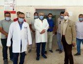 """وكيل """"صحة الشرقية"""": تجريب تانك الأكسجين بمستشفى أولاد صقر بعد تركيبه بـ15 سنة"""