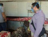 صور.. ضبط وإعدام أغذية فاسدة وإيقاف تشغيل مصنع مواد غذائية بالمنوفية