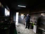 مستوطنون يحرقون مسجداً فى الضفة الغربية