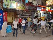 محافظ الغربية: غلق وتشميع 5 كافيهات ومحلين فى طنطا.. صور