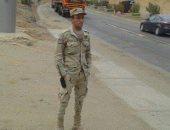 """""""إسلام"""" من القاهرة يشارك صحافة المواطن بصورته بالزى العسكرى"""