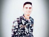 """""""منصور"""" من الفيوم يشارك صحافة المواطن صورته بالزى العسكرى"""