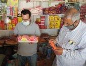 إعدام أغذية فاسده فى حملات تفتيش على المحلات والمخابز والأسواق بكفر الشيخ