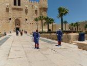 صور.. استعدادات مكثفة بقلعة قايتباى لاستقبال الزائرين خلال عيد الأضحى