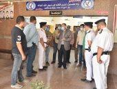 محافظ أسيوط يزور مركز شرطة ساحل سليم ويتفقد الخدمات الأمنية.. صور