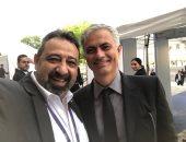 """مجدى عبد الغنى فى صورة مع جوزيه مورينيو: """"هذا الرجل أحبه وأحترمه"""""""