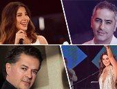 8 مطربين لبنانيين يغنون باللهجة المصرية أبرزهم فضل وراغب ونانسى
