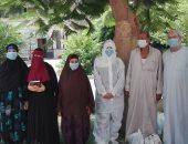 خروج 26 شخصا من مستشفيى حميات وصدر بنى سويف بعد تعافيهم من كورونا