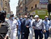 تحرير 22 محضر فى حملة لإزالة الإشغالات بالطرق والتعديات بمدينة الأقصر
