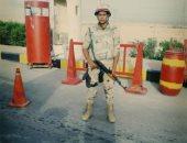 """كلنا جيش مصر.. """"أسامة"""" من الفيوم يشارك صحافة المواطن بالزى العسكرى"""