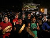 مظاهرات فى بورتلاند الأمريكية للتنديد بتعاملات الشرطة