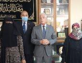 محافظ جنوب سيناء يهنئ عمال السركى بعيد الأضحى المبارك