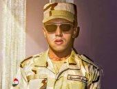 """كلنا جيش مصر.. """"هادى"""" من الجيزة يشارك صحافة المواطن صورته بالزى العسكرى"""
