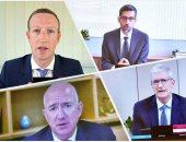 رؤساء فيسبوك وأمازون وجوجل وأبل فى محاكمة برلمانية أمام الكونجرس بسبب الاحتكار