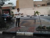 صور.. حملة نظافة بشوارع حى جنوب الأقصر ورفع القمامة لخدمة المواطنين بالعيد