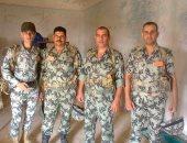كلنا الجيش المصرى.. سامى يشارك بصورة جماعية لرفاقه أثناء الخدمة العسكرية