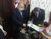 جولة ميدانية لمحافظ القاهرة لمتابعة بدء الدراسة فى العاصمة