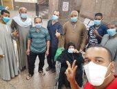شفاء 13 حالة من كورونا وخروجهم من مستشفى الأقصر العام