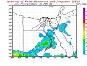 تنبؤ الرى يحذر من استمرار سقوط الأمطار اليوم على السواحل الشمالية والدلتا