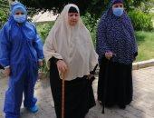 تعافى 10 حالات جديدة من فيروس كورونا بمستشفى حميات بنى سويف