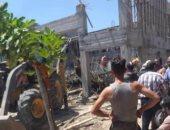 مصرع شخصين فى انهيار جزئى لبناء باللاذقية السورية