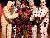 """مسرحية """" القطط """" على مسرح عبد المنعم مدبولى اليوم"""