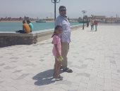 صور.. إقبال كبير بممشى أهل مصر بطور سيناء والشواطئ خالية بسبب كورونا