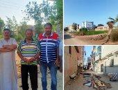 700 أسرة بالسرو فى دمياط مهددون بالطرد من منازلهم.. والزراعة ترد.. صور