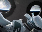 فيرجن جالاكتيك تكشف عن مقصورة سفينتها الفضائية السياحية .. صور