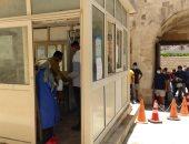 إقبال كبير على قلعة قايتباى بالإسكندرية فى أول أيام عيد الأضحى.. صور