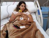 علياء عساف تدخل المستشفى بعد تعرضها لوعكة صحية وتشكر متابعيها