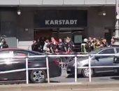 فيديو.. هجوم مسلح على مركز تجارى بالعاصمة الألمانية برلين