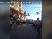 أفراح المصريين بعيد الأضحى بالإسكندرية تتواصل رغم كورورنا