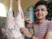 """العيد فرحة.. """"محمد"""" من الجيزة يشارك صورته باحتفالات عيد الأضحى المبارك"""