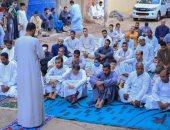 صور.. إقامة صلاة العيد فى مركز شباب الأقصر بالمخالفة لقرار الحكومة