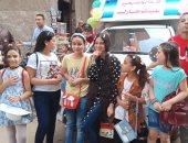 فرحة أهالى قرية سلك في محافظة الدقهلية باحتفالات عيد الأضحى.. صور