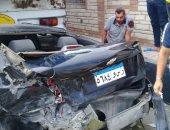 مصرع شخص وإصابة 2 فى حادث تصادم بطريق بلبيس العاشر من رمضان